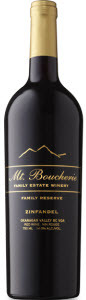 Mt. Boucherie Family Reserve Zinfandel 2009, Okanagan Valley Bottle