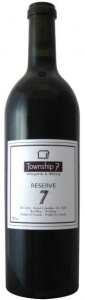 Township 7 Reserve 7 2009, Oliver, Okanagan Valley Bottle