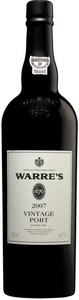 Warre's Vintage Port 2007, Doc Douro Bottle