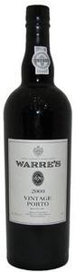 Warre's Vintage Port 2000, Doc Douro Bottle
