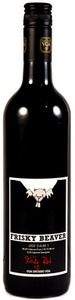 Frisky Beaver Red 2010, VQA Ontario Bottle