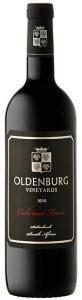 Oldenburg Vineyards Cabernet Franc 2009, Banghoek, Stellenbosch Bottle