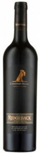 Ridgeback Cabernet Franc 2008, Paarl Bottle