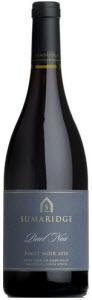 Sumaridge Pinot Noir 2010, Wo Upper Hemel En Aarde Valley Bottle