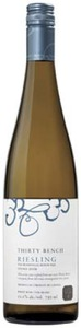 Thirty Bench Riesling 2012, VQA Beamsville Bench, Niagara Peninsula Bottle