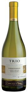 Concha Y Toro Trio Reserva Chardonnay/Pinot Grigio/Pinot Blanc 2012, Casablanca Valley Bottle