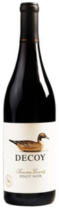 Duckhorn Decoy Pinot Noir 2011, Sonoma County Bottle