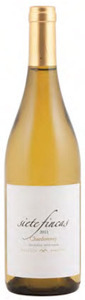 Siete Fincas Chardonnay 2011, Mendoza Bottle