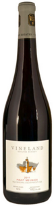 Vineland Estates Winery Pinot Meunier 2011, VQA Niagara Escarpment Bottle