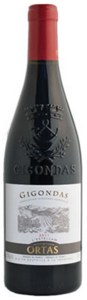 Ortas L'estellan Gigondas 2011, Ac Bottle