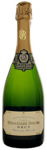 Graham Beck Brut Sparkling Wine, Méthode Cap Classique Bottle