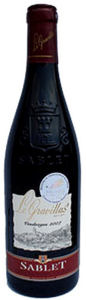 Le Gravillas Sablet 2011, Ac Côtes Du Rhône Villages Bottle