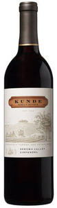 Kunde Zinfandel 2008, Sonoma County Bottle