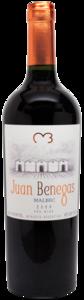 Juan Benegas Malbec 2010, Mendoza Bottle