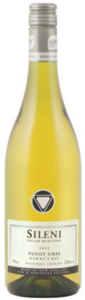 Sileni Cellar Selection Pinot Gris 2012, Hawkes Bay, North Island Bottle
