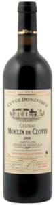 Château Moulin De Clotte Cuvée Dominique 2008, Ac Côtes De Bordeaux, Castillon Bottle
