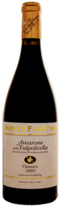 Monte Faustino Amarone Della Valpolicella Classico 2007, Doc Bottle