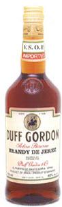 Duff Gordon Brandy De Jerez Bottle