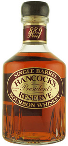 Hancock's President's Reserve Single Barrel Bourbon Whiskey, Kentucky, U.S.A. Bottle