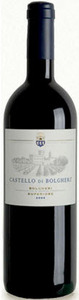 Castello Di Bolgheri 2009, Doc Bolgheri Superiore Bottle