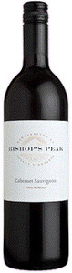 Bishop's Peak Cabernet Sauvignon 2011, Paso Robles Bottle