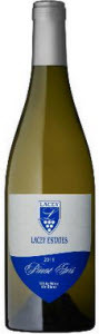 Lacey Estates Pinot Gris 2011 Bottle