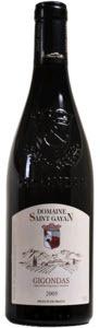 Domaine Saint Gayan Gigondas 2009, Ac Bottle