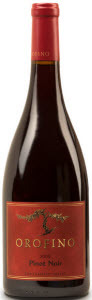 Orofino Vineyards Home Vineyards Pinot Noir 2011, BC VQA Similkameen Valley Bottle