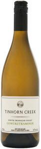 Tinhorn Creek Gewürztraminer 2012, BC VQA Okanagan Valley Bottle