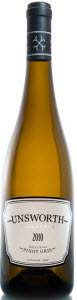 Unsworth Vineyards Pinot Gris 2011, Cowichan Valley, Vancouver Island Bottle