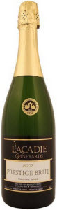 L'acadie Vineyards Prestige Brut, Traditional Method 2007, Annapolis Valley Bottle
