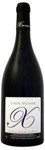 Xavier Cuvée Anonyme Châteauneuf Du Pape 2009 Bottle