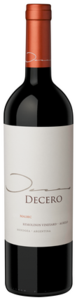 Decero Remolinos Vineyard Malbec 2010, Agrelo, Central Region, Mendoza Bottle