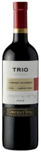Concha Y Toro Trio Reserva 2010, Maipo Valley Bottle