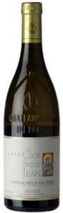 Clos St. Jean Châteauneuf Du Pape Blanc 2006, Ac, Non Filtre Bottle