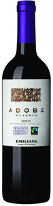 Emiliana Adobe Reserva Merlot 2011, Rapel Valley Bottle