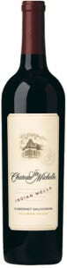 Chateau Ste. Michelle Indian Wells Cabernet Sauvignon 2010, Wahluke Slope, Columbia Valley Bottle