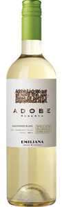 Emiliana Adobe Reserva Sauvignon Blanc 2012, Casablanca Valley Bottle