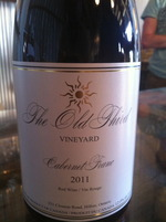 The Old Third Cabernet Franc 2011 Bottle