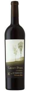Ghost Pines Winemaker's Blend Zinfandel 2011, Sonoma/San Joaquin Bottle
