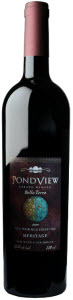 Pondview Estate Winery Bella Terra Meritage 2010, VQA Niagara Peninsula Bottle