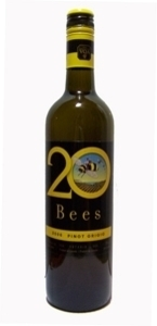 20 Bees Pinot Grigio 2012, Ontario  Bottle
