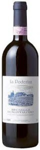 La Poderina Brunello Di Montalcino 2008, Brunello Di Montalcino Bottle