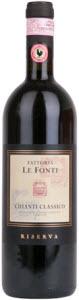 Le Fonti Chianti Classico Riserva 2009, Chianti Classico Bottle