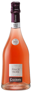 Codorníu Pinot Noir Brut Rosé Cava, Spain, Traditional Method Bottle