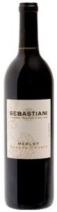 Sebastiani Merlot 2009, Alexander Valley, Sonoma County Bottle