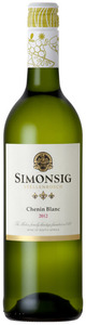 Simonsig Chenin Blanc 2012, Wo Stellenbosch Bottle