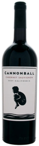 Cannonball Cabernet Sauvignon 2010, California Bottle