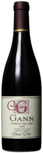 Gann Family Cellars Pinot Noir 2009, Russian River Valley, Sonoma County Bottle