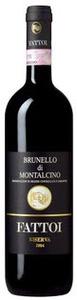 Fattoi Brunello Di Montalcino Riserva 2007, Brunello Di Montalcino Bottle